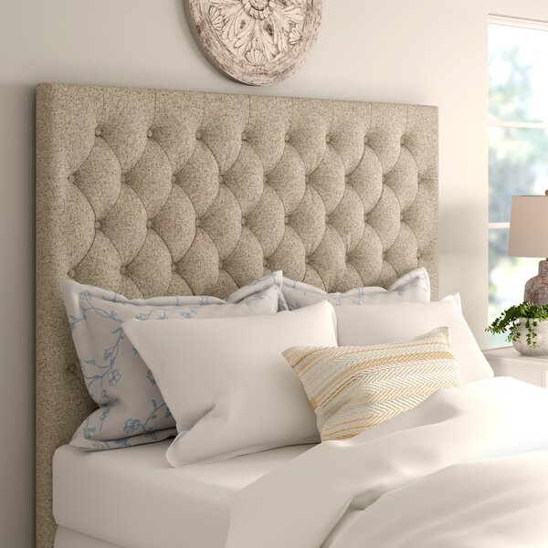 McCaysville Upholstered Panel Headboard by Three Posts