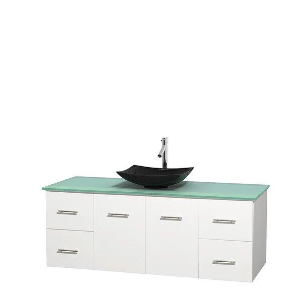 Centra 60 Single Bathroom Vanity Set by Wyndham Collection