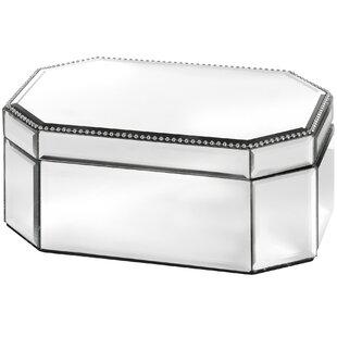 mirrored jewellery box wayfair co uk