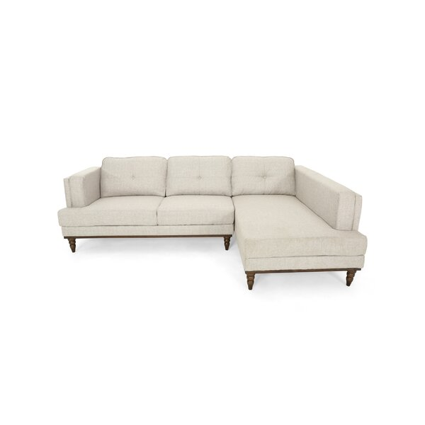 Pinckneyville Sectional by Alcott Hill