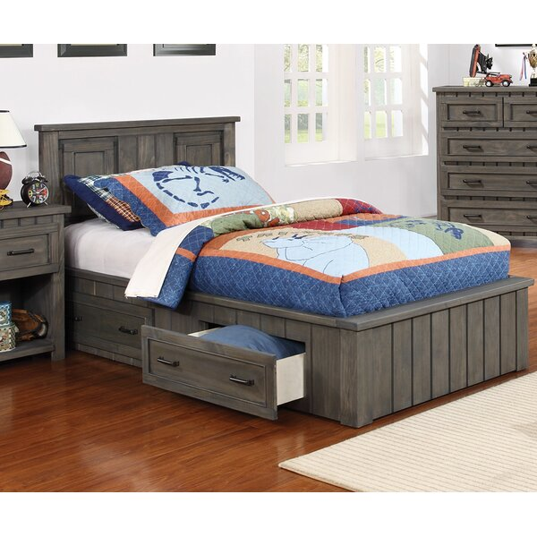 Escobar Platform Bed with Drawers by Harriet Bee