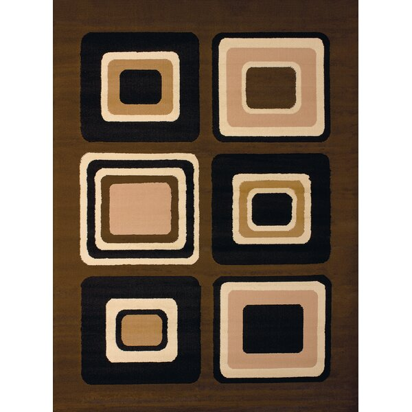 Dallas Spaces Brown Area Rug by United Weavers of America