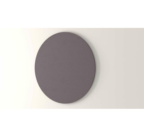 Circle Wall Mounted Bulletin Board by OBEX