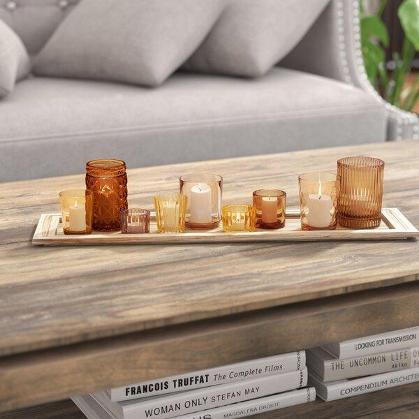 10 Piece Glass Votive Set by Mistana
