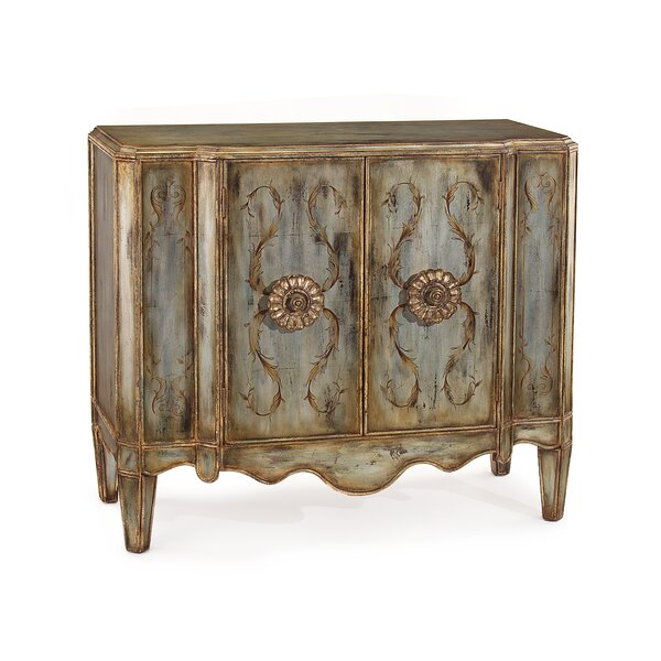 Lotus 2 Door Accent Cabinet by John-Richard John-Richard
