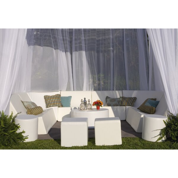 Romp Cabana 13 Piece Sectional Seating Group by La-Fete