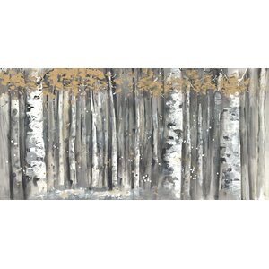 'Branches' by Anastasia C. Painting Print on Wrapped Canvas by Hobbitholeco.