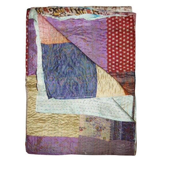 Moorebank Silk Throw by Bloomsbury Market