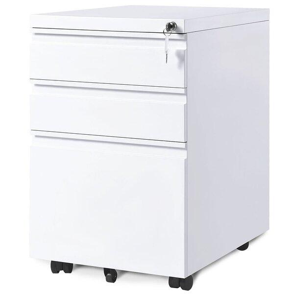 Briyah 3-Drawer Vertical Filing Cabinet