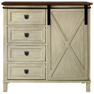 Compare Lamb Farmhouse 4 Drawer Accent Cabinet By Gracie Oaks