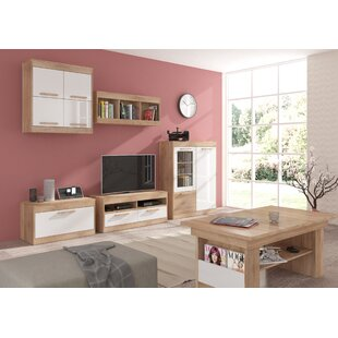 Columbia 5 Piece TV Stand Set By Ebern Designs