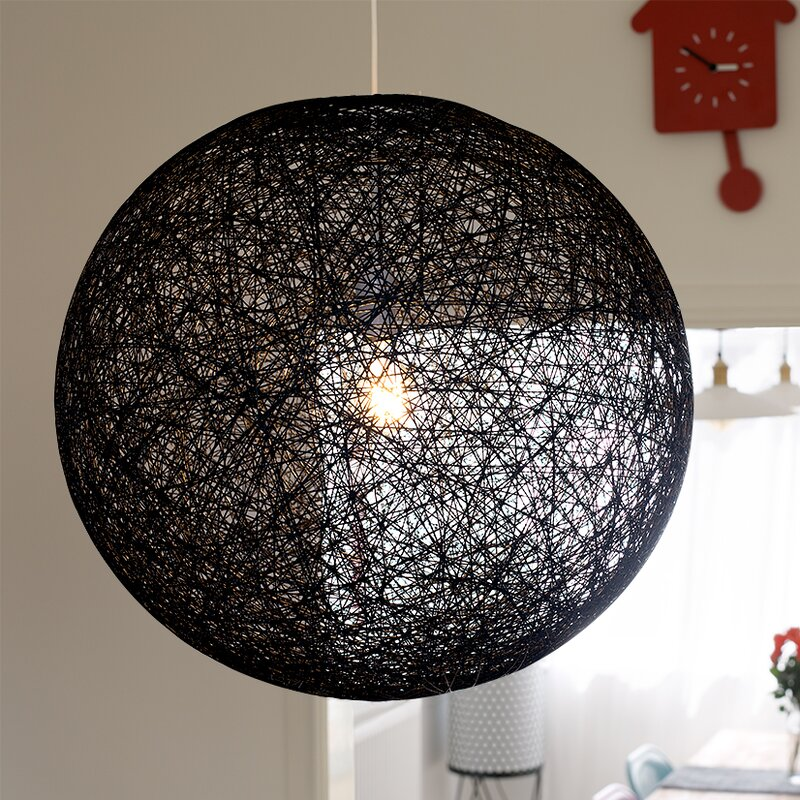 iconic lights 53 cm lampenschirm bjorn aus korbgeflecht bewertungen. Black Bedroom Furniture Sets. Home Design Ideas