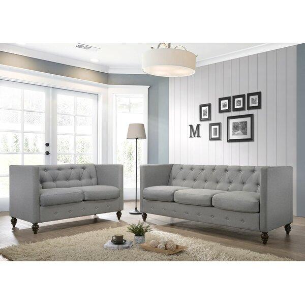 Carnforth 2 Piece Configurable Living Room Set by Lark Manor