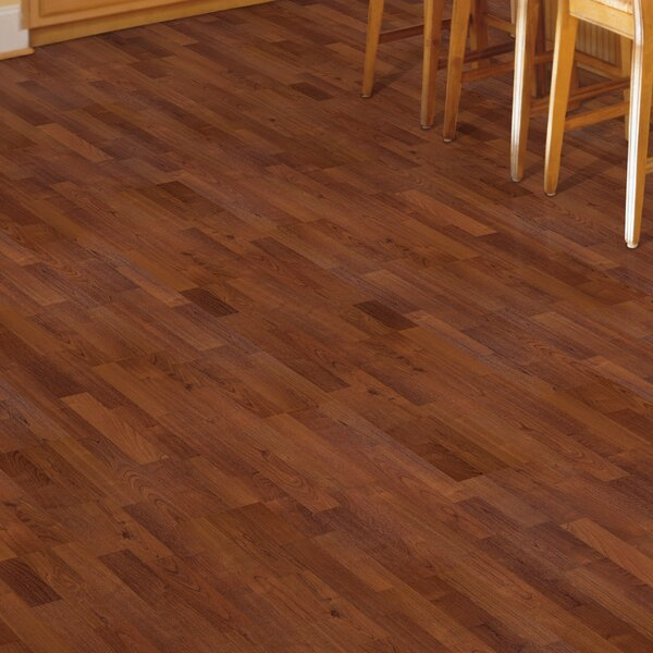 Fieldview 8 x 47 x 7mm Cherry Laminate Flooring in Sunset American Cherry by Mohawk Flooring
