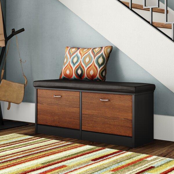 Spicer Wood Storage Bench By Ebern Designs Find