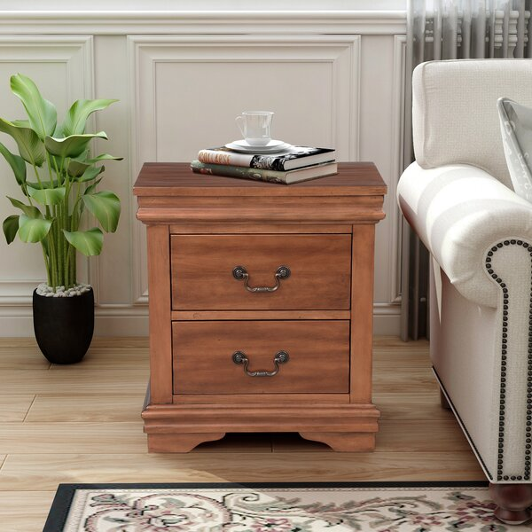 Wellston 2 Drawer Nightstand by Canora Grey