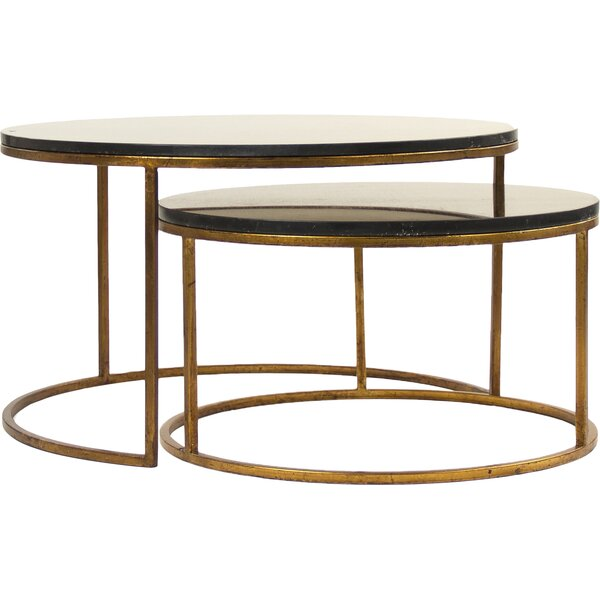 Cheri Coffee Table Set (Set Of 2) By Zentique