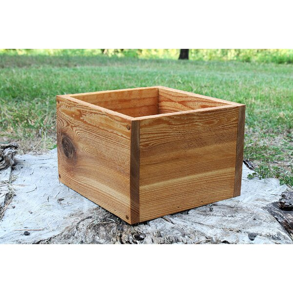 Osias Square New Cedar Planters Box by Millwood Pines