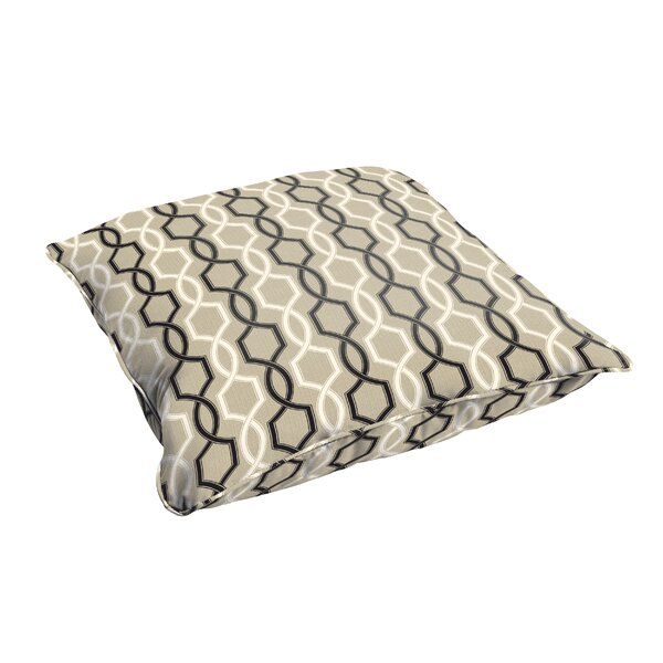 Bank Indoor/Outdoor Floor Pillow by Darby Home Co