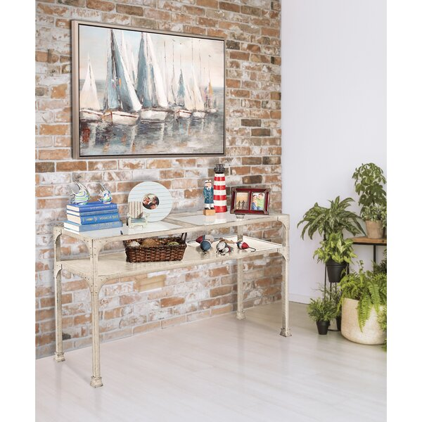 Williston Forge White Console Tables