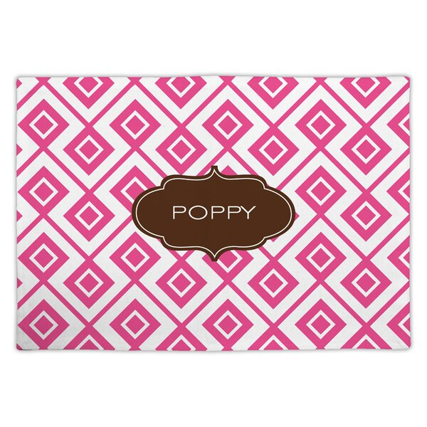 Lucy Block Personalized Fabric Placemat by Dabney Lee