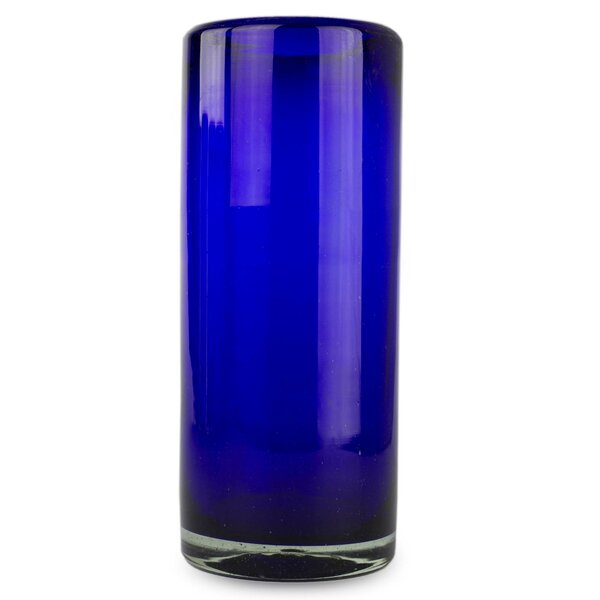 Javier and Efren Pure Highball Glass (Set of 6) by Novica