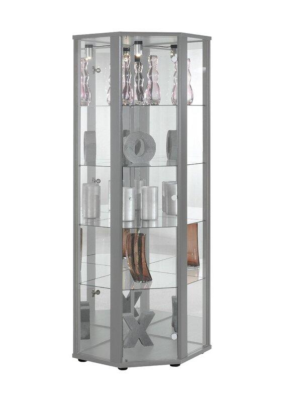 All Home Claveles Corner Curio Cabinet & Reviews | Wayfair.co.uk