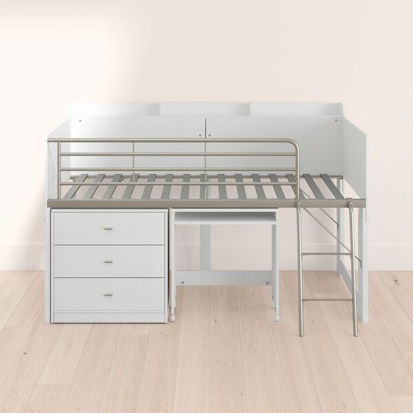 Alcester Twin Low Loft Bed With Drawers By Mack & Milo by Mack & Milo Best Choices