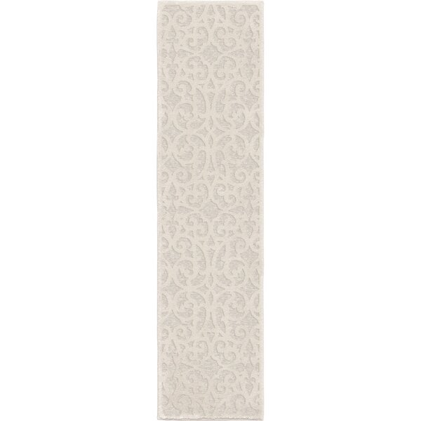 Farrand Natural Ivory Indoor/Outdoor Area Rug by Charlton Home