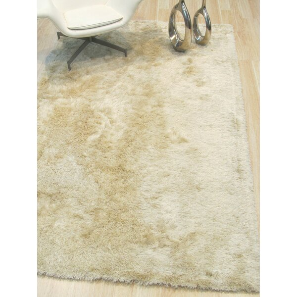 Pearman Hand-Woven Ivory Area Rug by Latitude Run