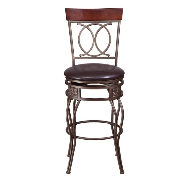 29 Swivel Bar Stool by Adeco Trading