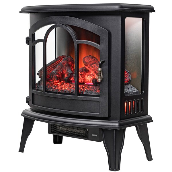 Portable 3D Flames Electric Fireplace by AKDY
