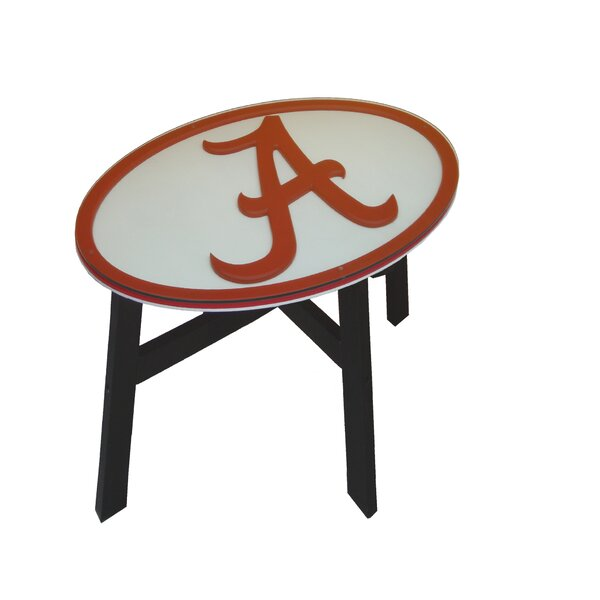 NCAA End Table by Fan Creations