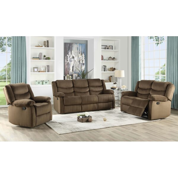 Medved 3 Piece Reclining Living Room Set
