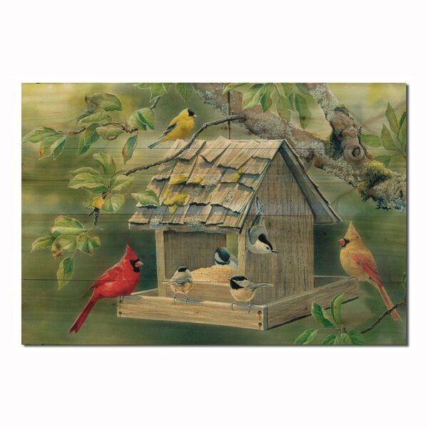 Summer Feast by Susan Bourdet Painting Print Plaque by WGI-GALLERY