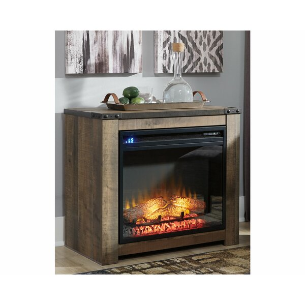 Trinell Fireplace Surround With Insert By Signature Design By Ashley
