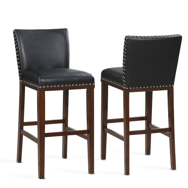 Millwright 30 Bar Stool (Set of 2) by Darby Home Co