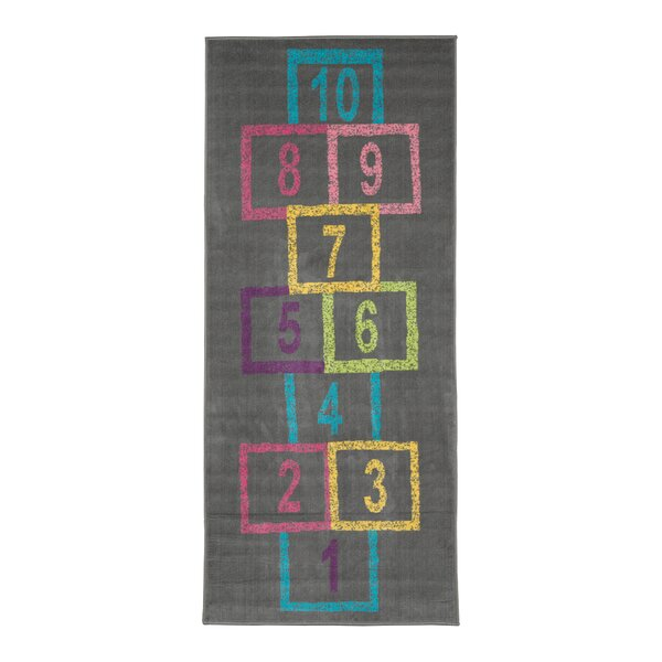 Malik Educational Hopscotch Area Rug by Zoomie Kids