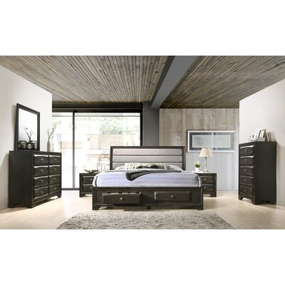 Gauch Platform 6 Piece Bedroom Set Winston Porter Size Queen