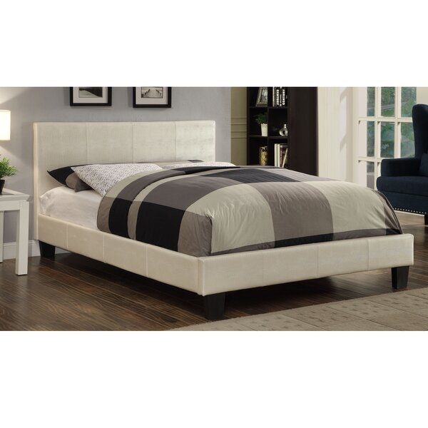Morgana Upholstered Platform Bed by Mercer41