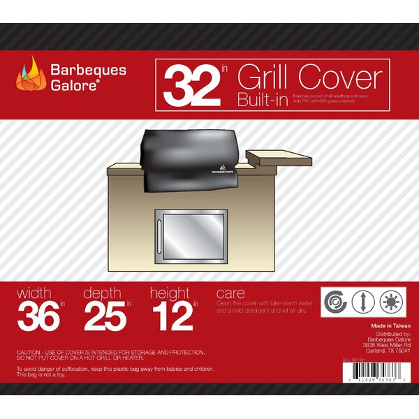 Turbo Grill Cover - Fits up to 34 by Barbeques Galore