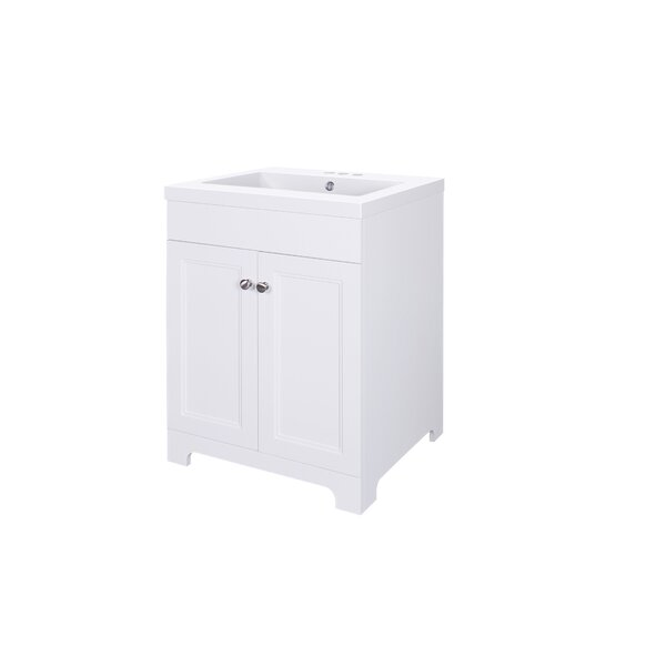 Pamela 24 Single Bathroom Vanity by Charlton Home