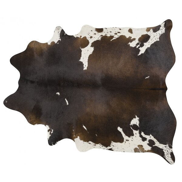 Handmade Brown/White Area Rug by Pergamino