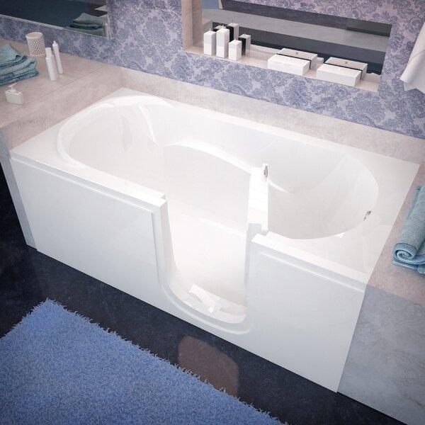 Ashton 60 x 30 Walk-In Bathtub by Therapeutic Tubs