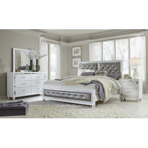 Rhona Upholstered Panel Configurable Bedroom Set by Rosdorf Park
