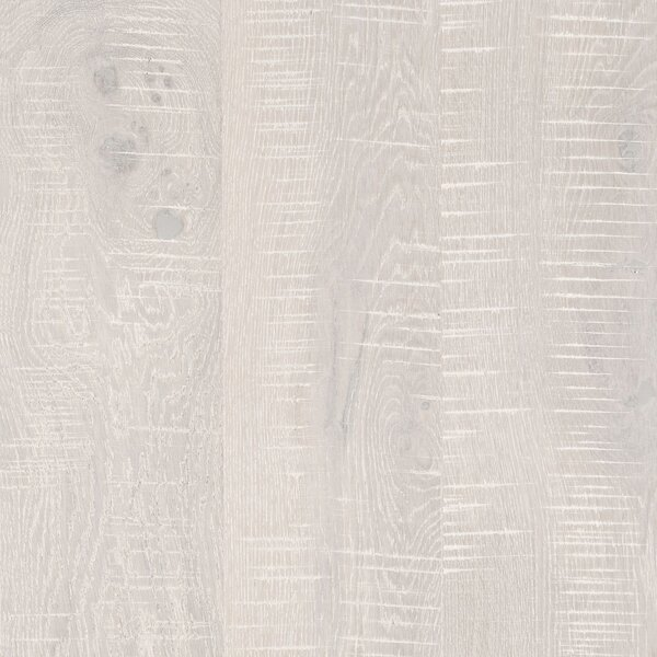 Arbordale Random Width Engineered Oak Hardwood Flooring in Artic White by Mohawk Flooring