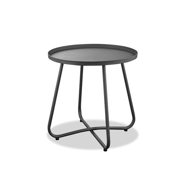 Pioche Aluminum Side Table by Wrought Studio