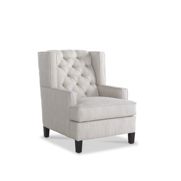 Leslie Wingback Chair by Joe Ruggiero Collection