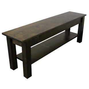 Pelagia Wood Storage Bench