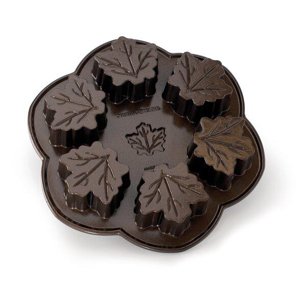 Bundt Brand Bakeware Maple Leaf Cake Pan by Nordic Ware